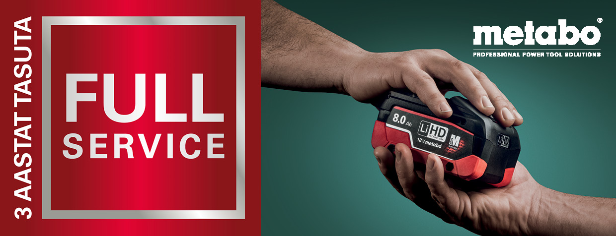 Metabo all in service inlist