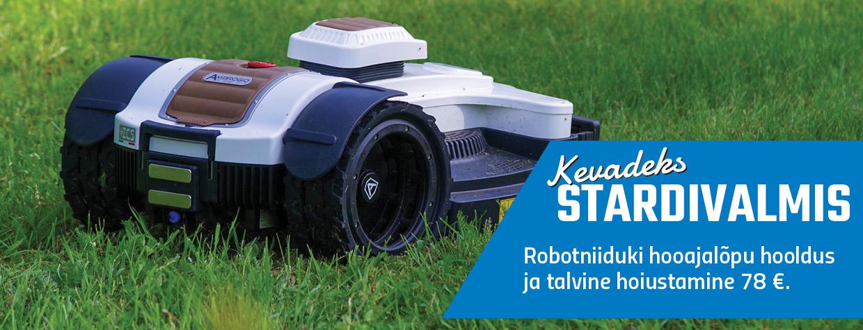 Kevadeks stardivalmis robot