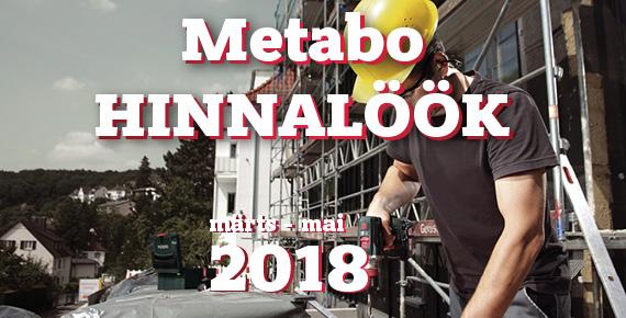 Metabo kevadine hinnalöök 18