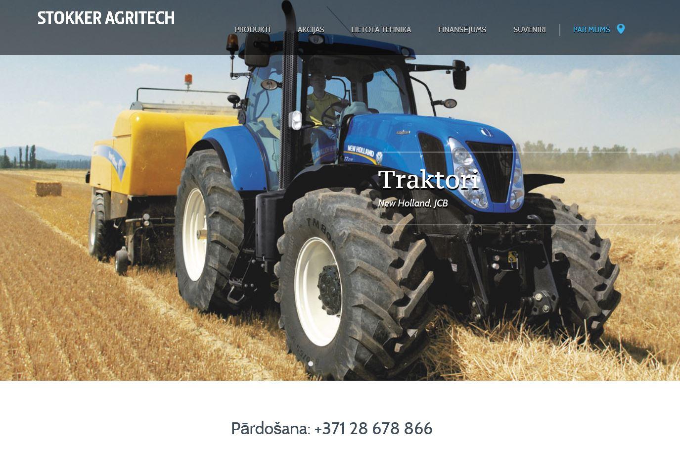 Lauksaimniecības mašīnas