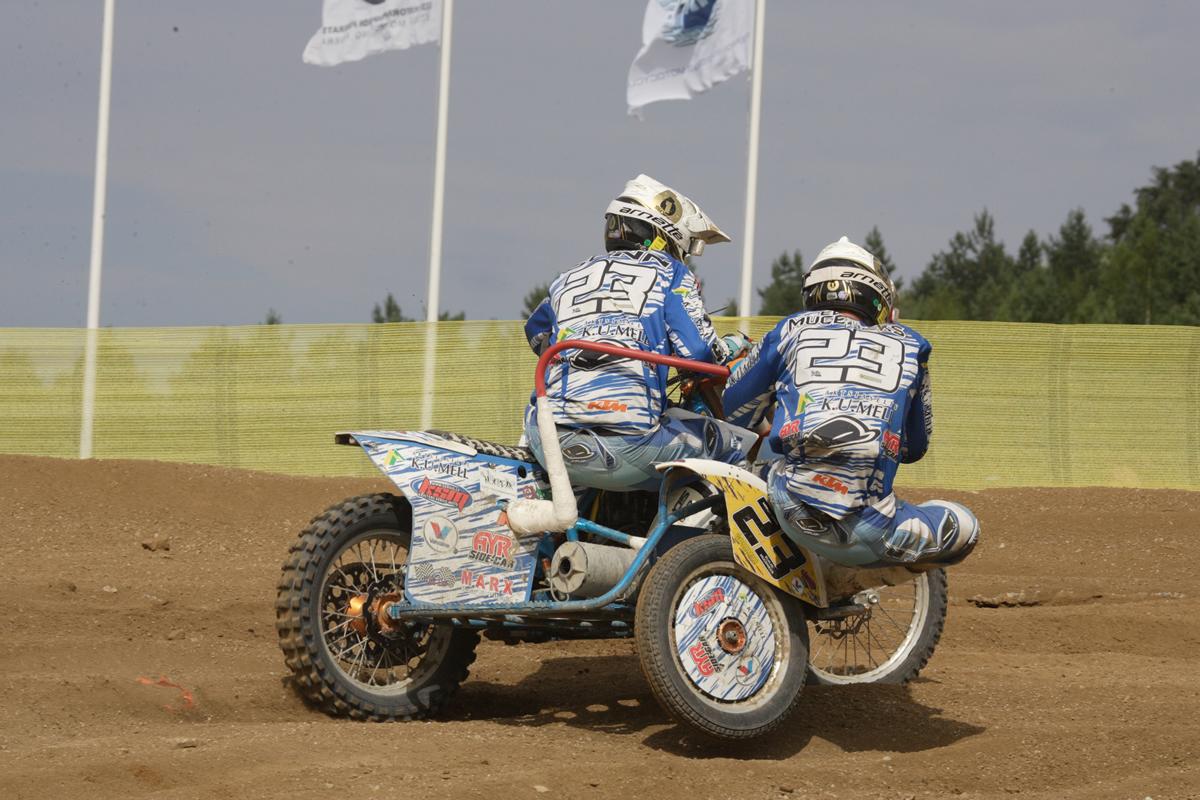 Margo Sonn. Eesti külgkorviga motokrossi meistersõitja.