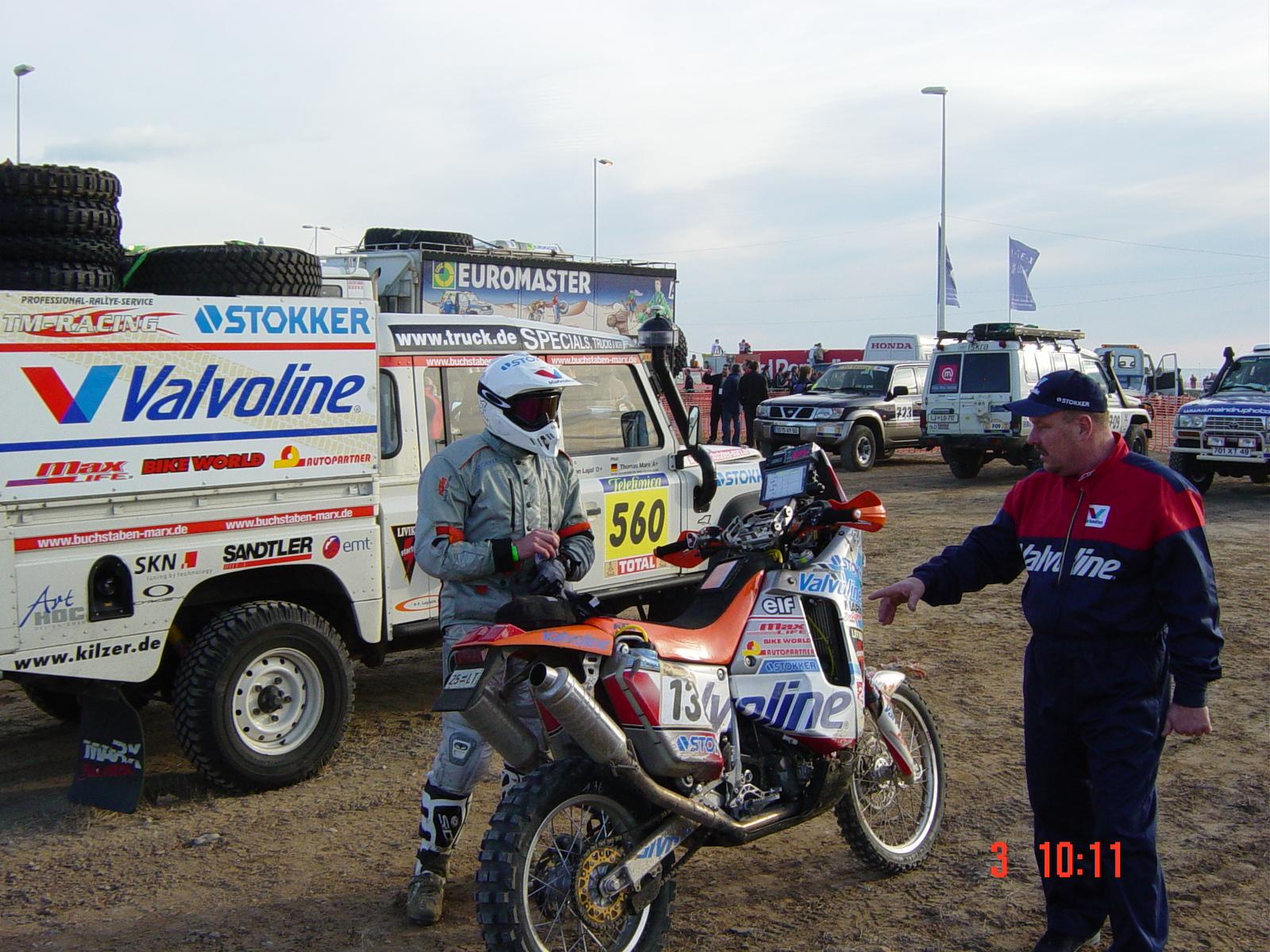 Mart Lajal. Esimene eestlane, kes julges ette võtta Pariisi-Dakari seikluse.