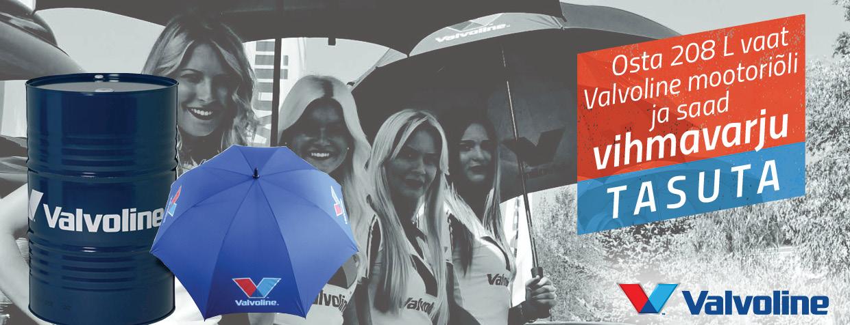 Valvoline vihmavari