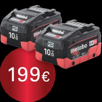 Metabo 2 batteries