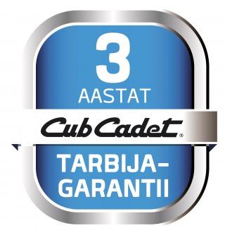 CubCadet 3-aastane tarbijagarantii