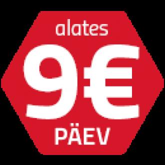 Ammann rent 9 EUR / päev