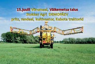 Stokker Agri DEMOpäev 15.juulil Võrumaal, Väikemetsa talus