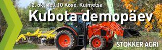 Kubota demopäev 12.oktoobril Kosel, Kuimetsas