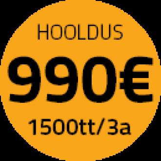 JCB hooldus 990 EUR/3a