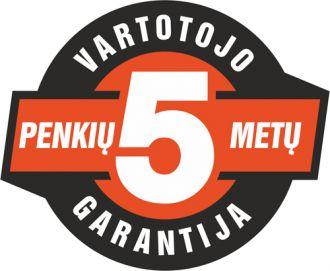 ECHO 5-erių metų garantija
