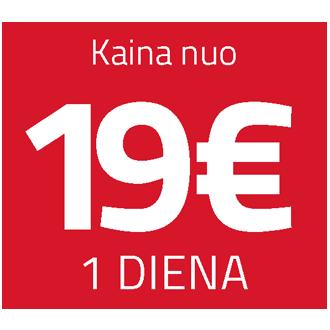 Ammann nuoma 19 eur / diena