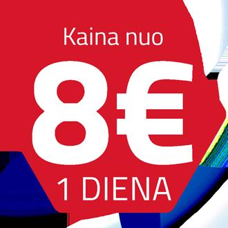 Ammann nuoma 8 eur / diena