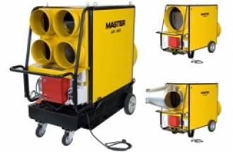 Master AIR BUS šildytuvai - masinių renginių šildymo lyderis