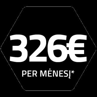 Mažiausia įmoka 326