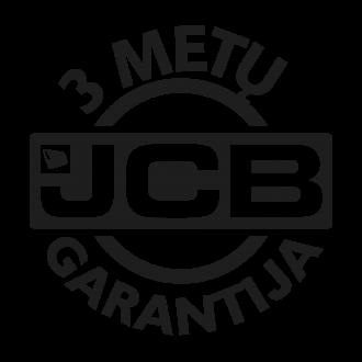 JCB 3 metų garantija