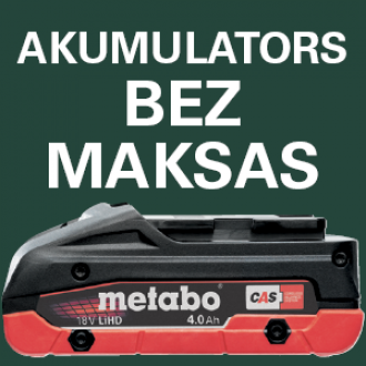 Metabo akumulators bez maksas