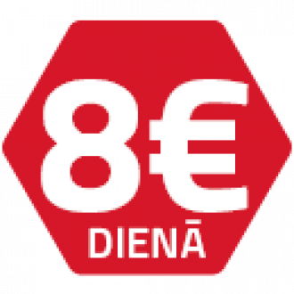 Ammann noma 8 EUR / dienā