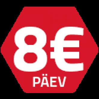 Ammann rent 8 EUR / päev