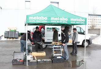 Kutsu külla Metabo buss, ratastel praktikum!