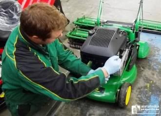 Muruniiduki ja -traktori ettevalmistused talveks