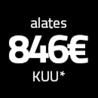 Kuumakse 846€