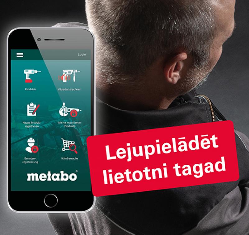 Metabo iepazīstina ar jaunu lietotni!