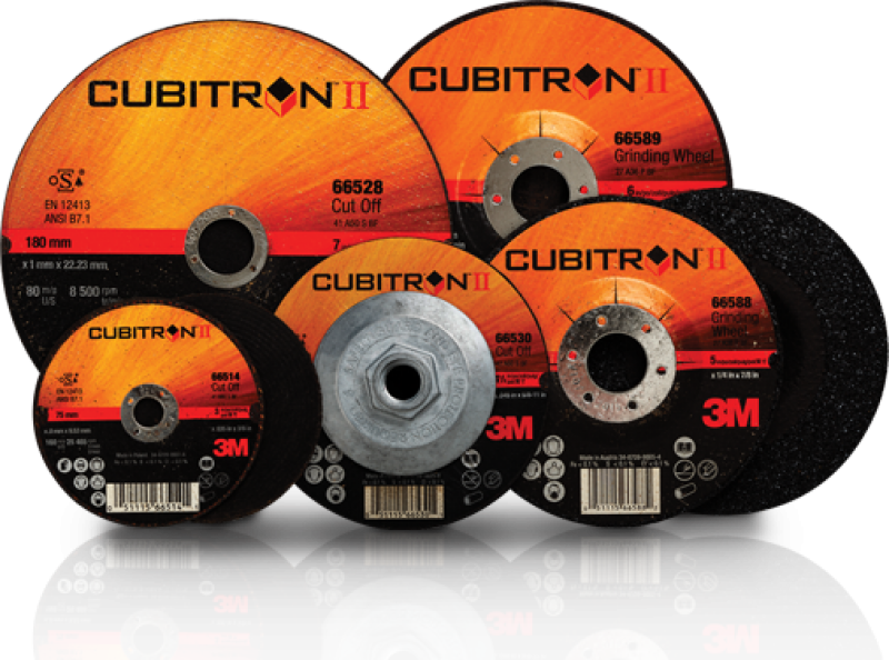 Kauakestvad ja efektiivsed 3M™  Cubitron II abrasiivid