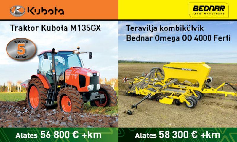 Teraviljakülviku ja Traktori pakkumine