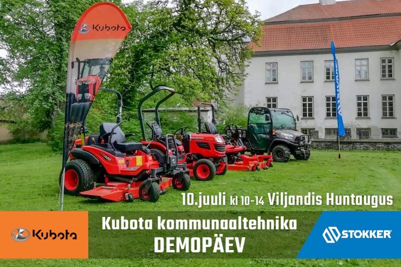 Kubota demopäev Viljandis