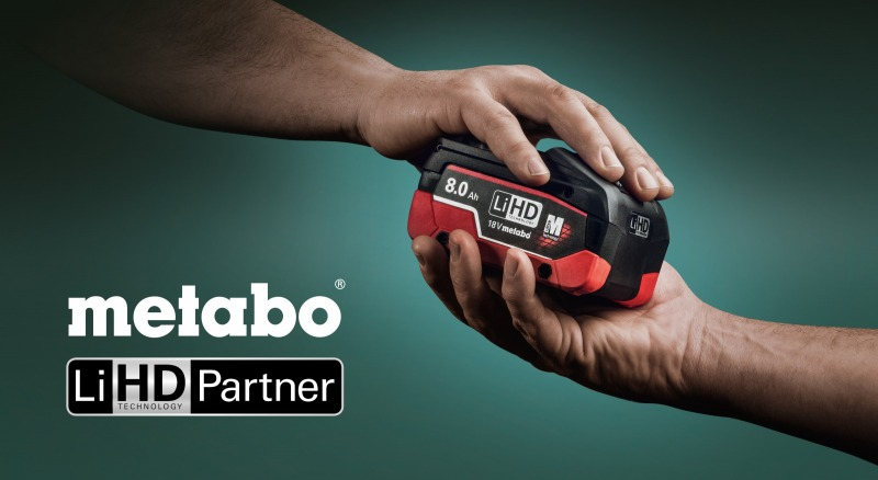 Stokker tavs Metabo LiHD partneris
