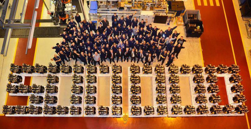 JCB paminėjo 500 000-ojo variklio pagaminimą