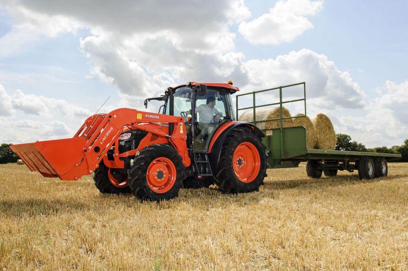 """Parodoje """"Agrovizija"""" bus pristatyti japoniški traktoriai Kubota"""