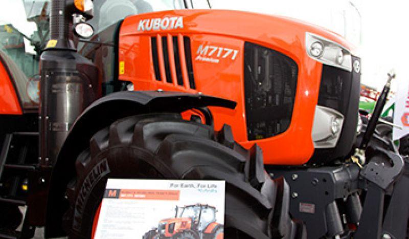 Kubota traktoriai pristatyti parodoje Ką pasėsi...2016