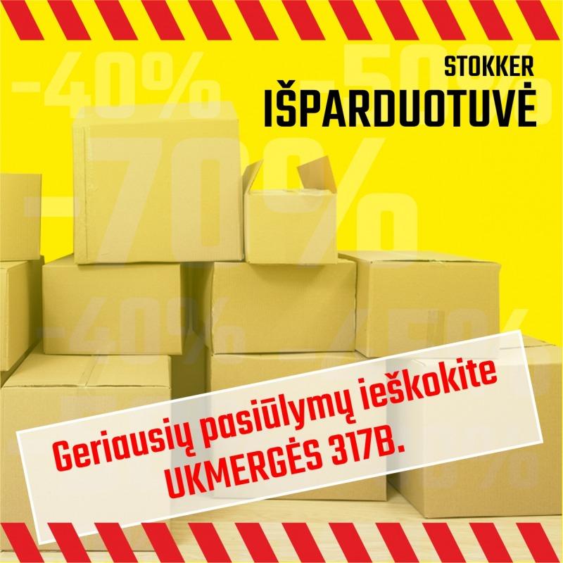 Stokker Išparduotuvė uždaroma nuo 2019.09.01