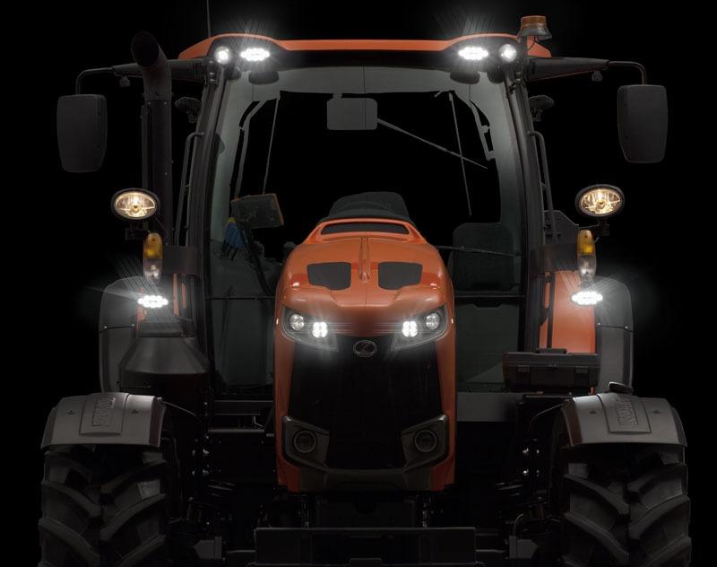 Kubota išleido visiškai naują M6002 traktorių seriją