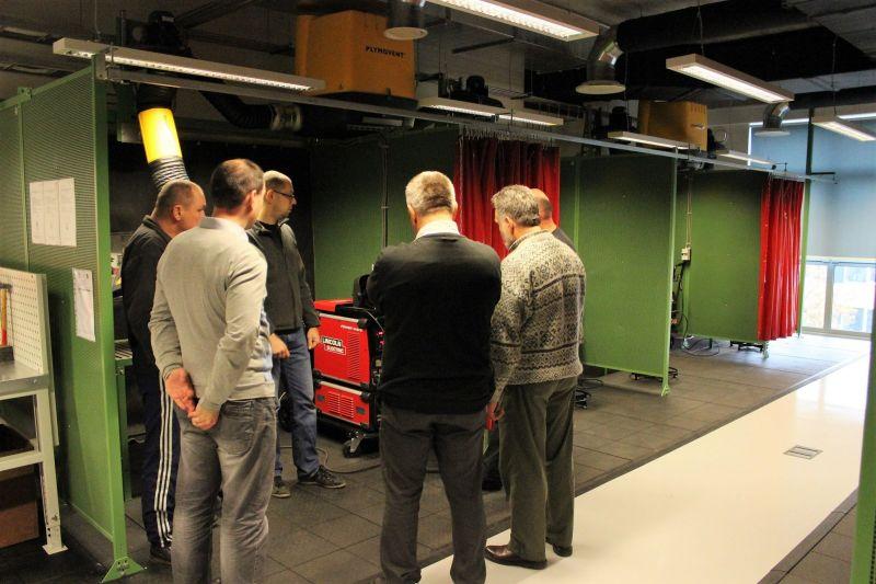 RTU sadarbībā ar STOKKER izveido modernu metināšanas laboratoriju
