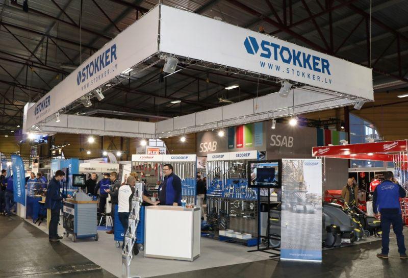"""STOKKER prezentē unikālu risinājumu izstādē """"Tech Industry 2017"""""""