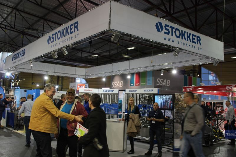"STOKKER piedalās izstādē ""Tech Industry 2016"""