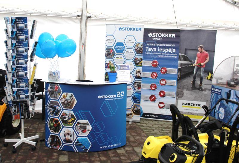 """STOKKER izstādē """"Ražots Liepājā"""" prezentē jaunos mauriņa pļaušanas robotus Ambrogio"""