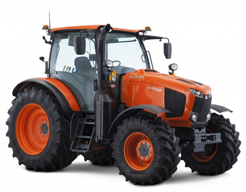 Kubota izlaiž jauno M6002 traktoru sēriju