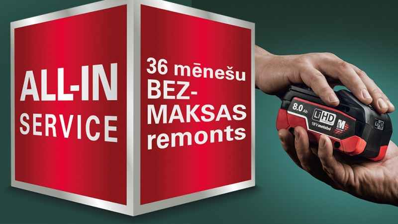 Kas ir Metabo all-in service?