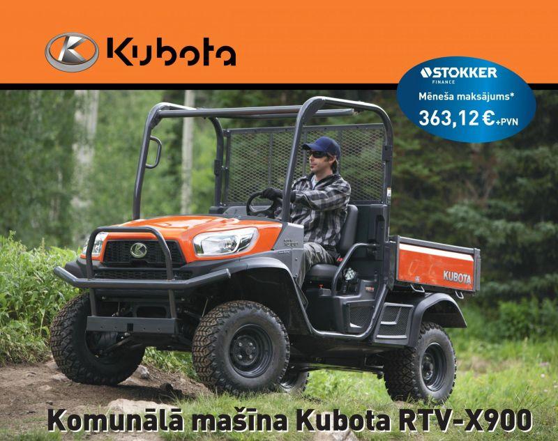 Komunālā mašīna Kubota RTV-X900 par īpašu cenu!