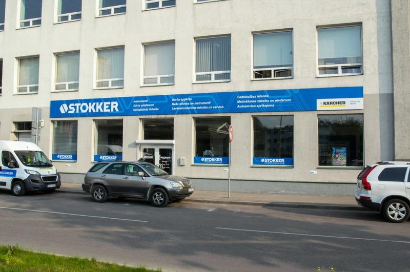 STOKKER Kalnciema instrumentu un servisa centra slēgšana