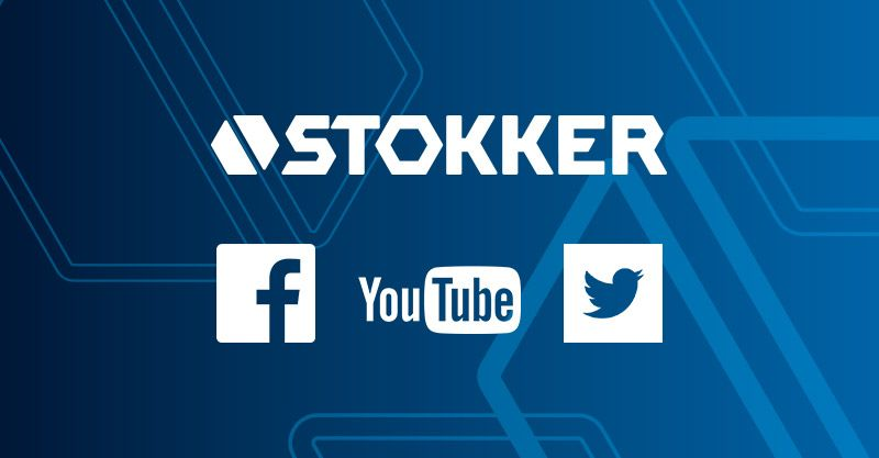 Seko STOKKER ikdienai arī sociālajos tīklos!