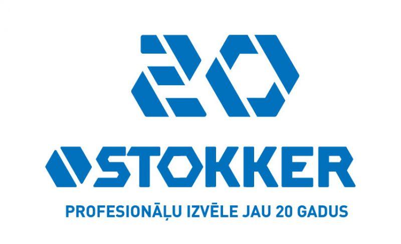 STOKKER tirdzniecības un servisa centru tīkls atzīmē 20 gadus Baltijā!
