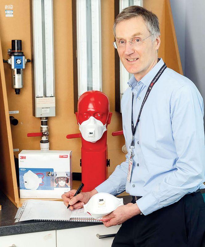 Respiratoru ražošanas zinātne - no autiņbiksīšu testēšanas līdz produktam darba aizsardzībai
