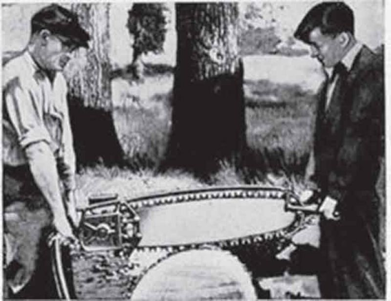 Mootorsae ajalugu.