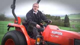 Kubota traktorius L3200
