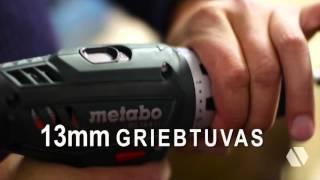 METABO akumuliatorinis suktuvas gręžtuvas BS 14.4 Li