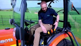 Kubota B50 serijos Compact traktoriai